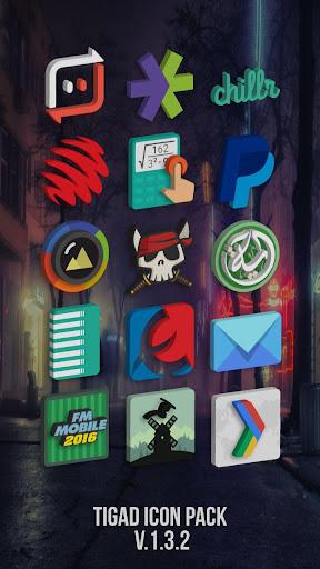 Tigad Pro Icon Pack  screenshots 2