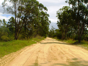 Photo: Gravel road in Salamanga