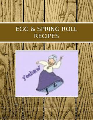EGG & SPRING ROLL RECIPES