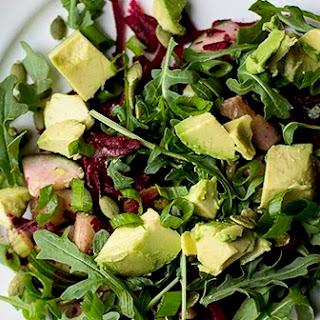Detox Salad with Beets, Avocado & Arugula