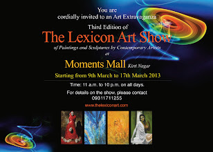 Photo: 3rd Edition of The Lexicon Art show was innaugurated by Ms. Sangeeta Gupta