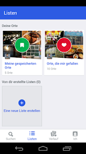 Foursquare – Miniaturansicht des Screenshots