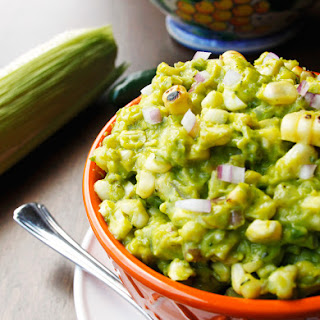 Charred Corn Guacamole.