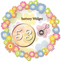 Battery Widget-ガーリィ電池 icon