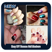 Easy DIY Banana Nail Manicure icon