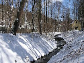 Photo: C4010003 Krynica - juz kwiecien a tu snieg
