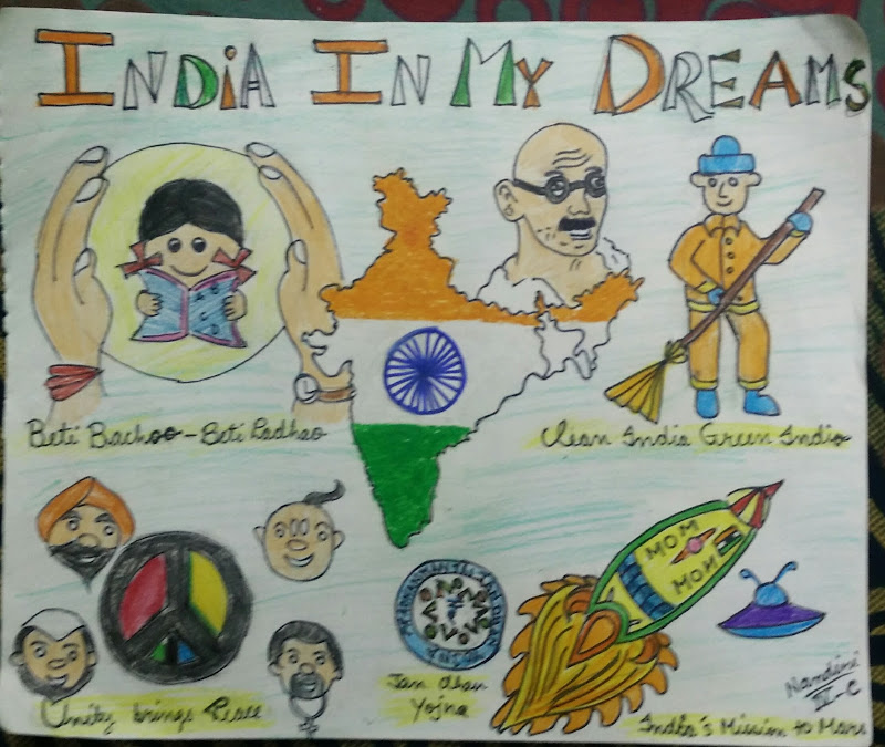 the india of my dreams I daily dream of my beloved motherland i wish it to be a richer, happier and healthier land to live in i want it to be a veritable heaven on earth i hope that.