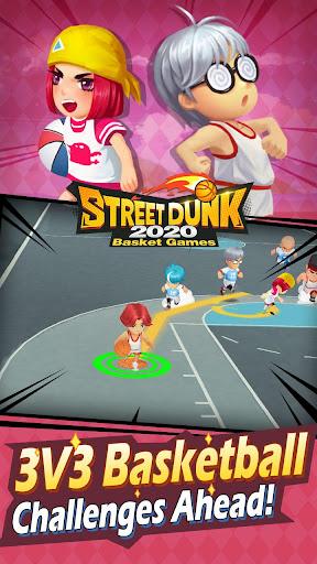 Street Dunk-2020 Basket games screenshot 4
