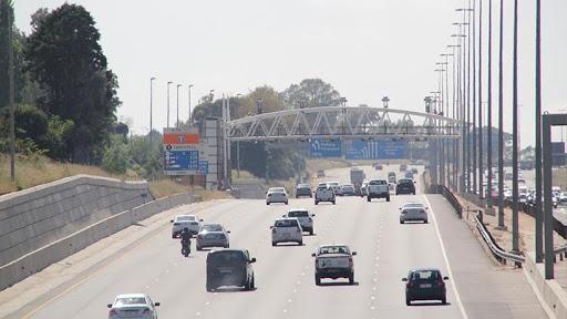 The much-despised e-toll gantries in Gauteng.