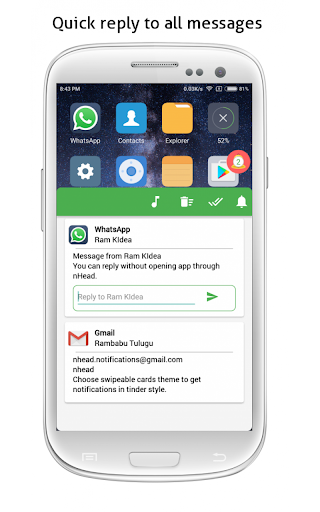 bubble pro - notifications in bubble screenshot 1