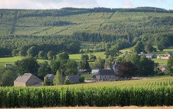 Photo: Coup d'œil à l'arrière sur le village