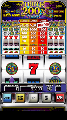 Triple 200x Pay Slot Machines android2mod screenshots 2
