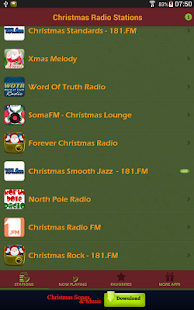Christmas Radio Stations- screenshot thumbnail