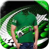 Pakistani Flag Shirts Photo Maker