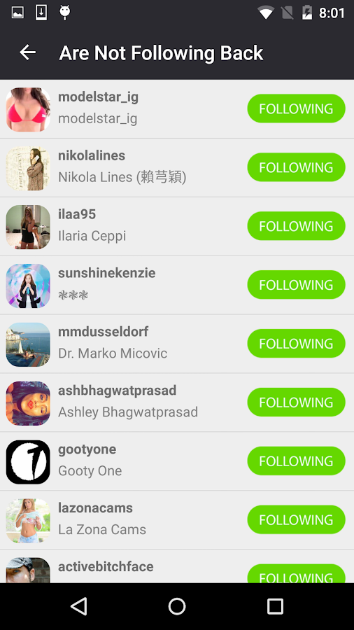 Followers for Instagram- screenshot