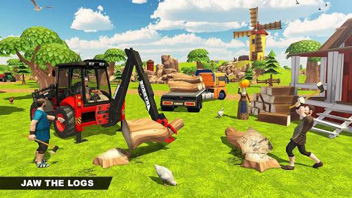 Virtual Village Excavator Simulator apkpoly screenshots 5