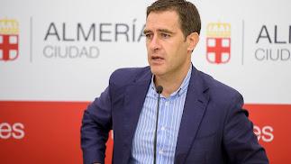 Miguel A. Castellón, portavoz equipo de Gobierno.