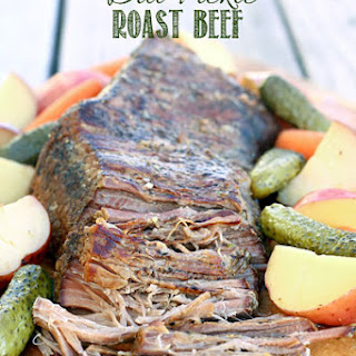 Dill Pickle Roast Beef.