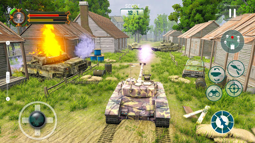 Battle Tank games 2020: Offline War Machines Games apkmartins screenshots 1
