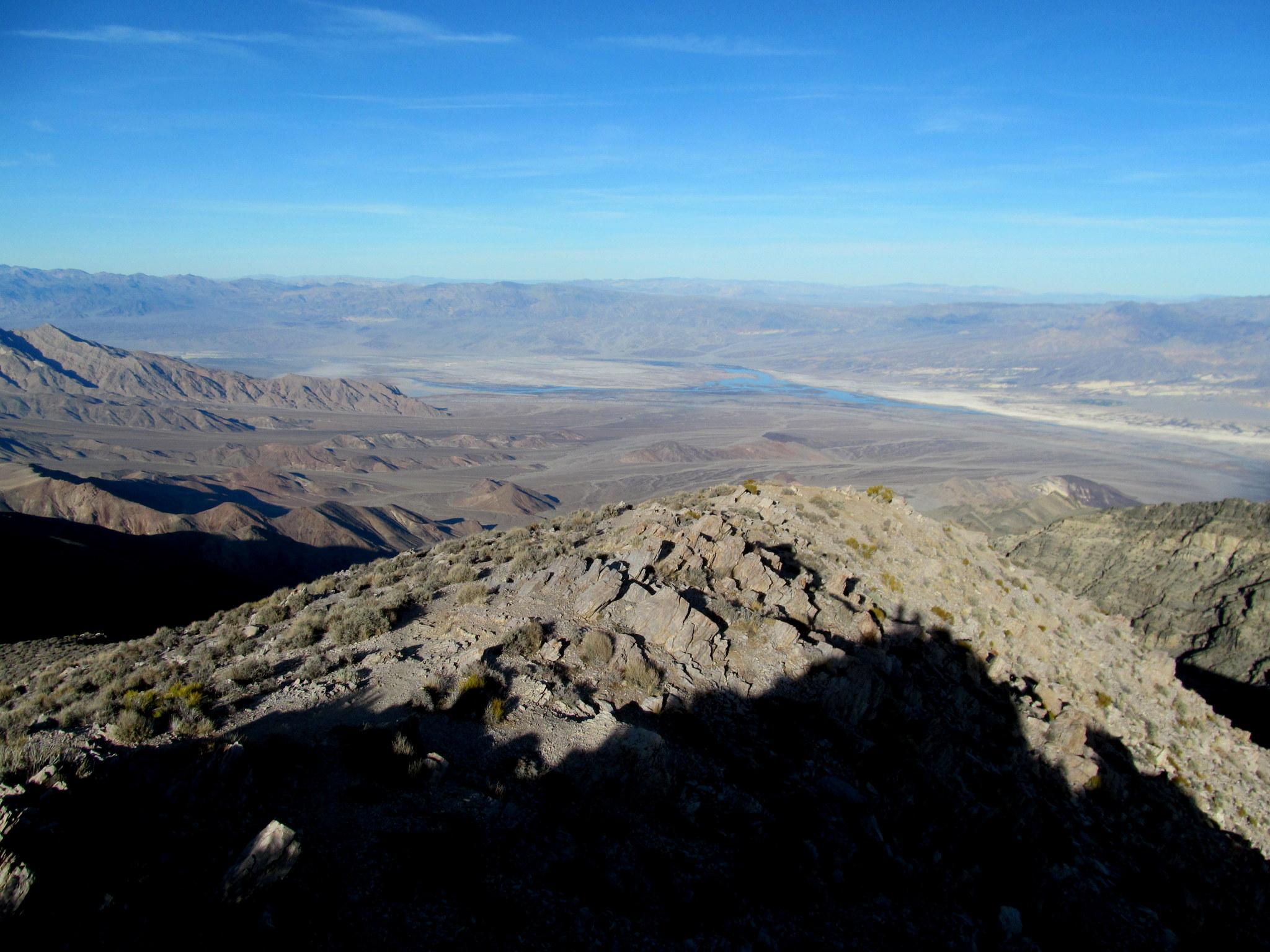 Photo: Northeasterly view toward Cottonball Basin