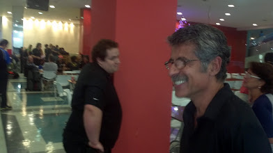 Photo: Reações aos resultados... (John Júnior e Márcio Vieira)