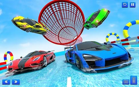 Water Surfing Car Stunts 2