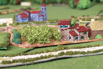 Photo: Un particolare di Stuckstadt am Main. Miniature Baccus, materiale scenico TimeCast, McGijo e autocostruito
