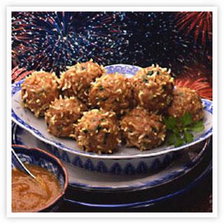 Emperor Meatballs with Shanghai Peach Sauce