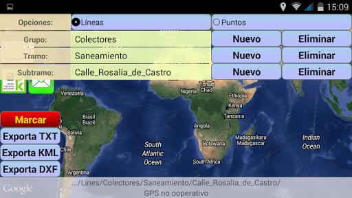 GPS. GIS. Inventario. Municio