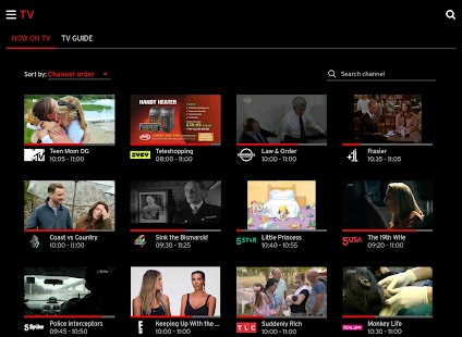 Virgin TV Go- screenshot thumbnail