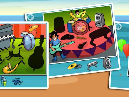 Music Puzzle - zábava pro děti - náhled