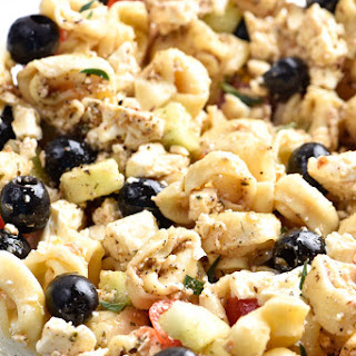 Easy Tortellini Pasta Salad