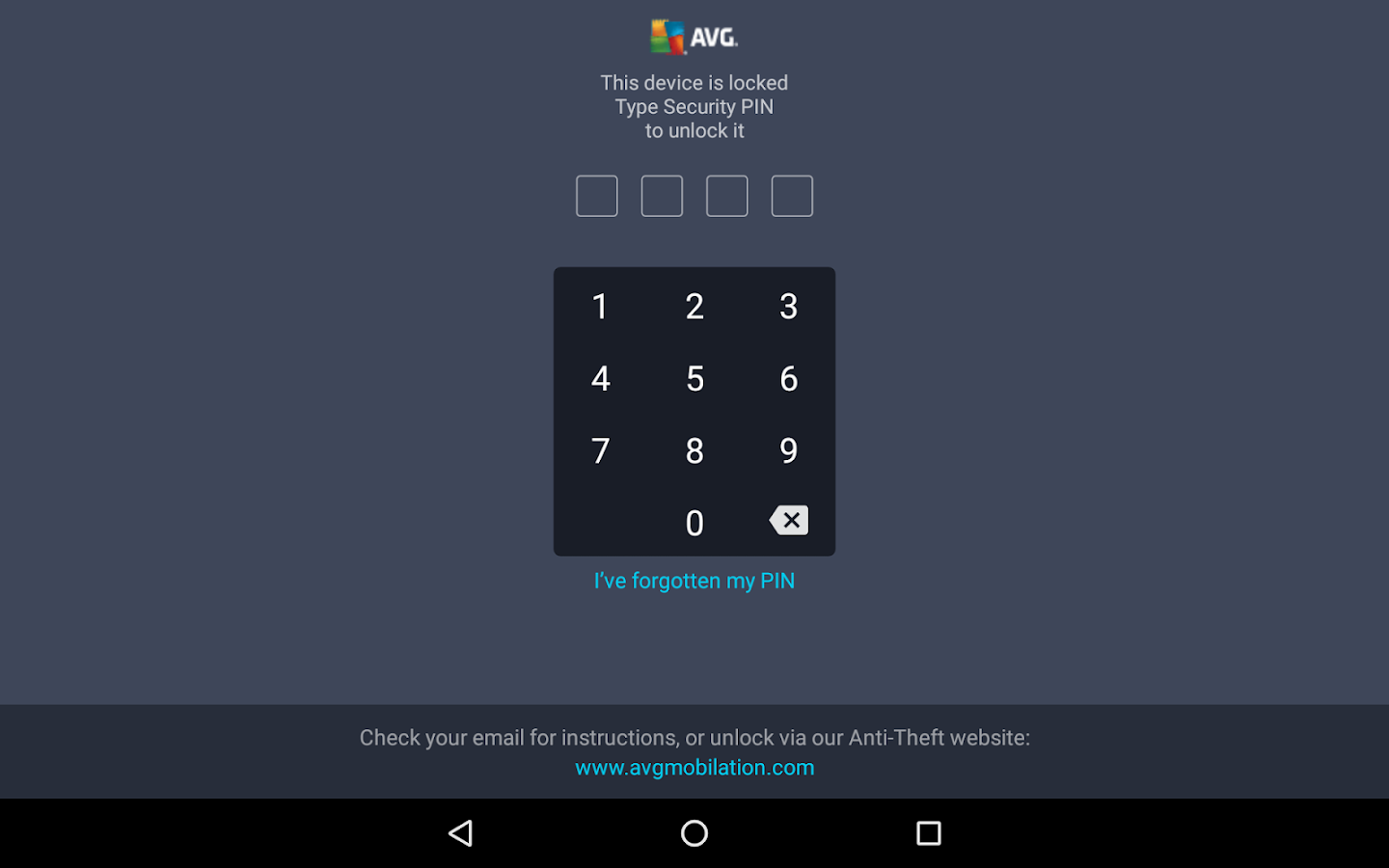 AVG AntiVirus FREE for Android- screenshot