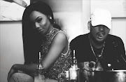 AKA and Bonang when they used to be an item.