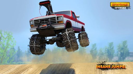 Spintrials Offroad Driving Games screenshots 6