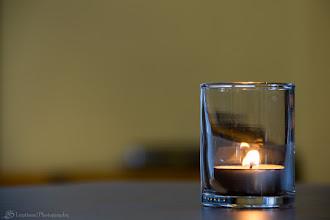 Photo: Candle Light @ Karen Krasne Extraordinary Desserts, San Diego, CA - http://photo.leptians.net/#Candle_Light
