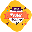Poster Maker: Social Media Post & Quotes Creator icon