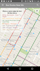 NYC Bus Map - Live screenshot 1