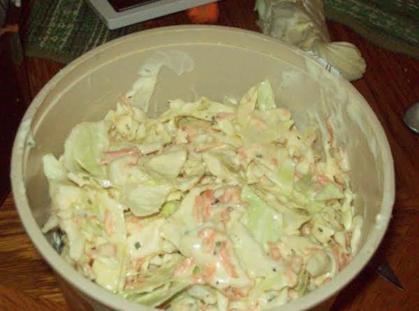Diane's Cole Slaw Recipe