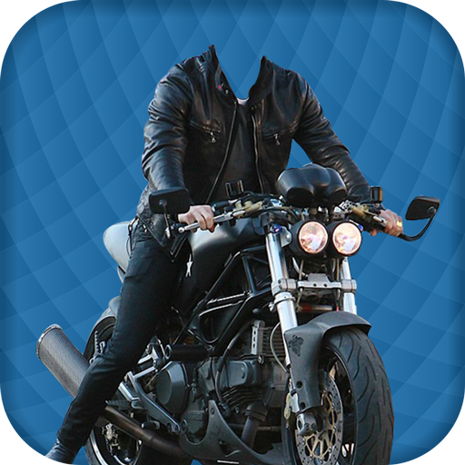 Man Moto Photo Suit Editor