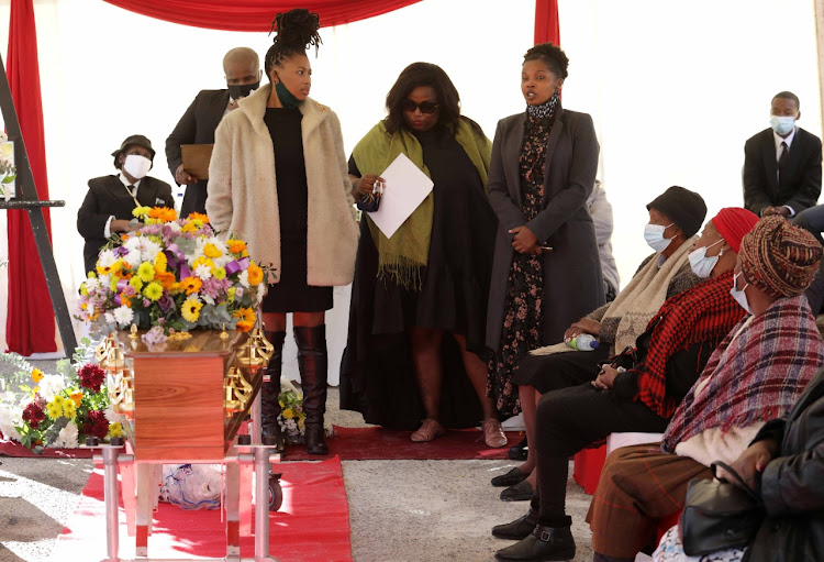 Sibongiseni Gabada's former classmates, Milli Bala, Sibulele Siko-Shosha and Portia Msamo, paid tribute to her on Wednesday.