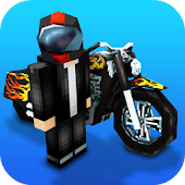 Motorcycle Racing Craft: Moto Games & Building 3D