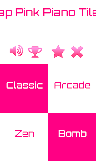Tap The Pink Piano Tiles