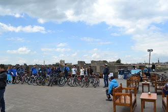 Photo: On the top of old walls of the Amed city