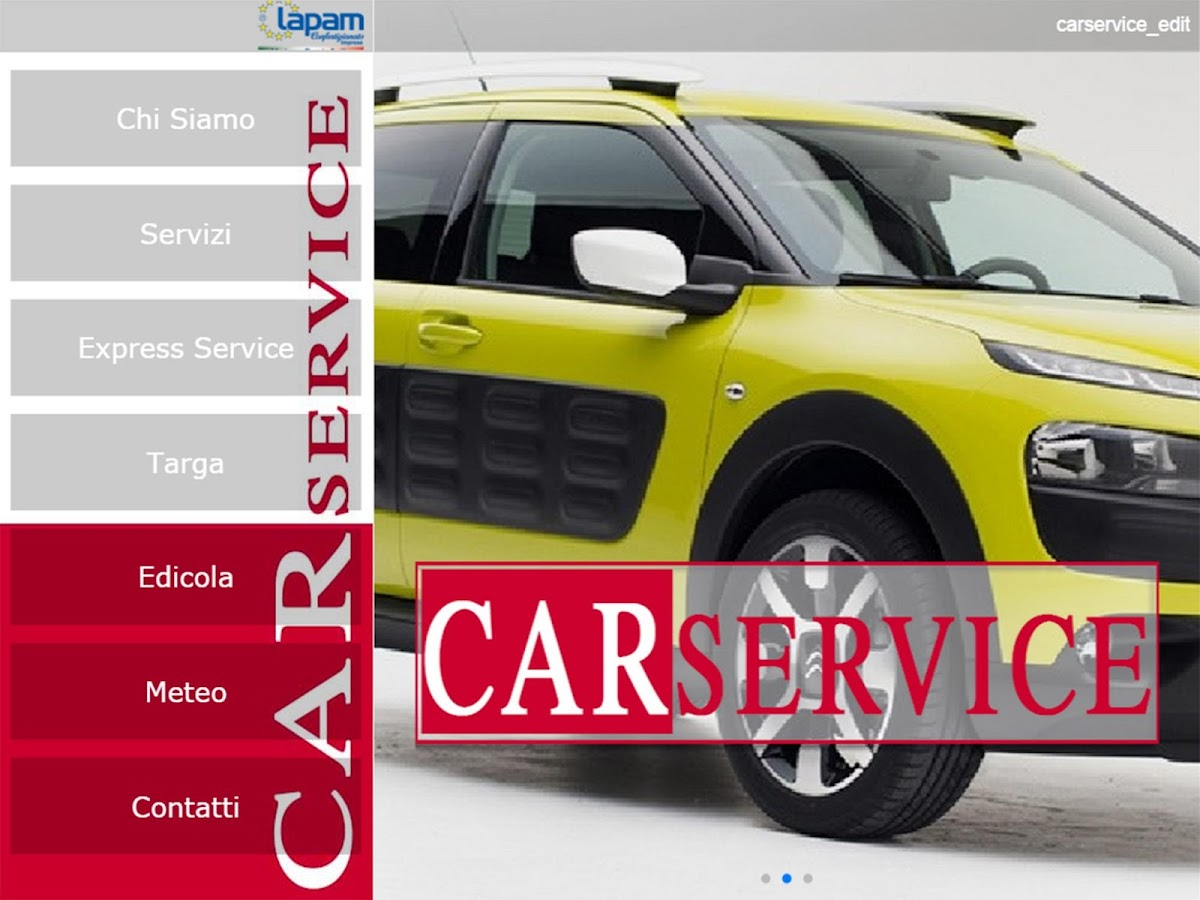 CarService- screenshot