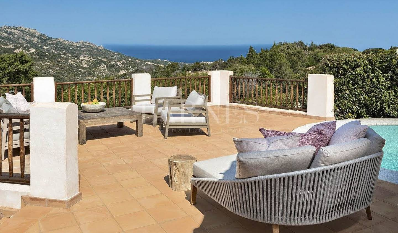 Villa avec piscine et jardin Arzachena