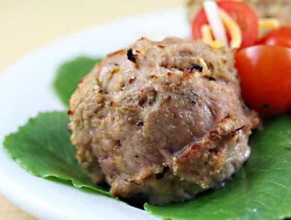Green Chili Turkey Meatballs Recipe