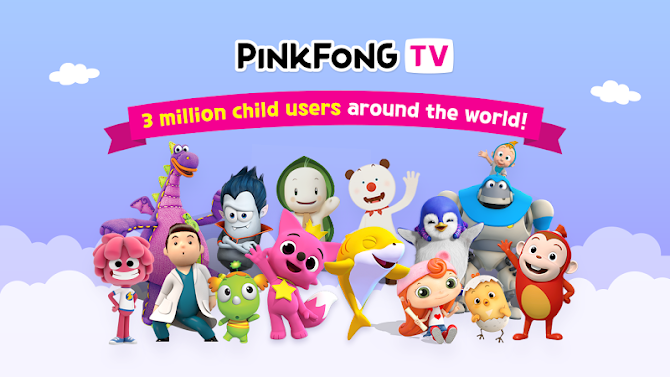 PINKFONG TV - Kids Baby Videos Android 1
