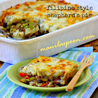 Shepherd's Pie (Filipino-style).