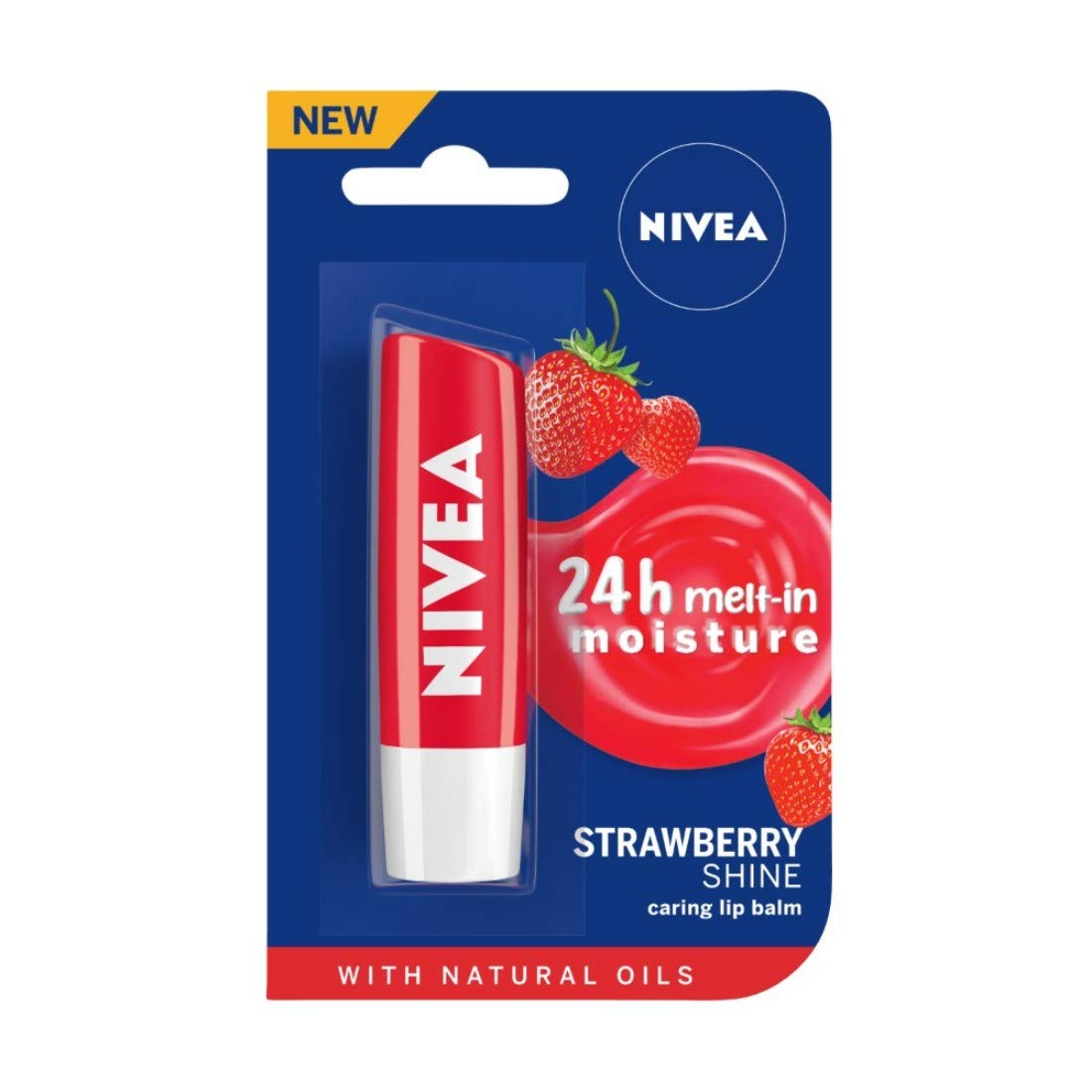 NIVEA Fruity Strawberry Lip Balm